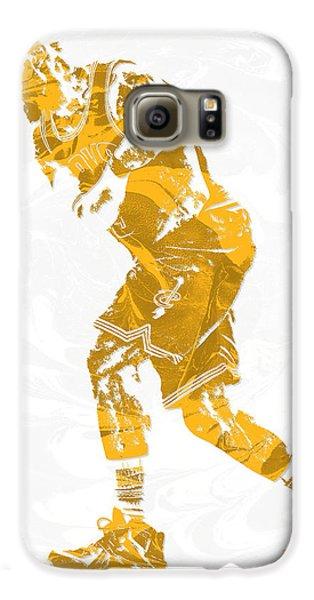 Lebron James Cleveland Cavaliers Pixel Art 13 Galaxy S6 Case