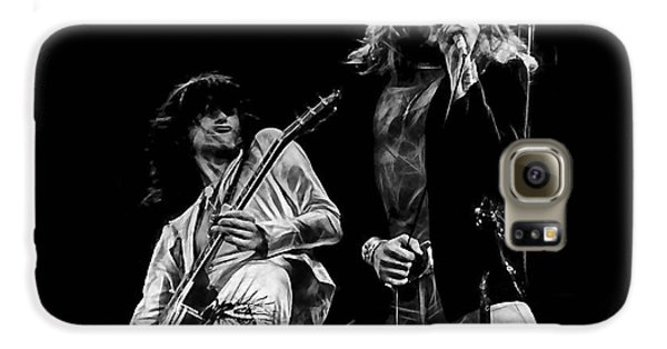 Led Zeppelin Robert Plant Jimmy Page Collection Galaxy S6 Case by Marvin Blaine