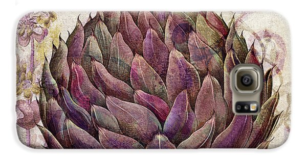 Legumes Francais Artichoke Galaxy S6 Case by Mindy Sommers