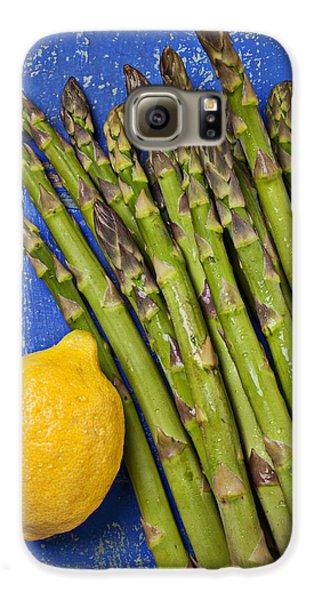 Asparagus Galaxy S6 Case - Lemon And Asparagus  by Garry Gay