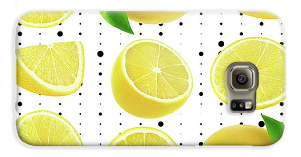 Lemon  Galaxy S6 Case by Mark Ashkenazi