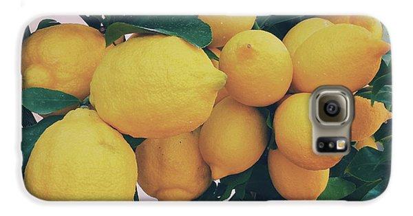 Lemon Tree Galaxy S6 Case by Happy Home Artistry