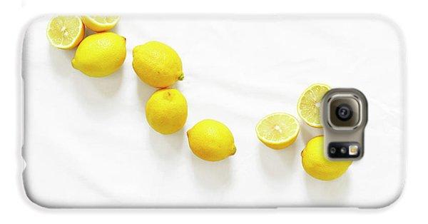 Lemons Galaxy S6 Case by Lauren Mancke