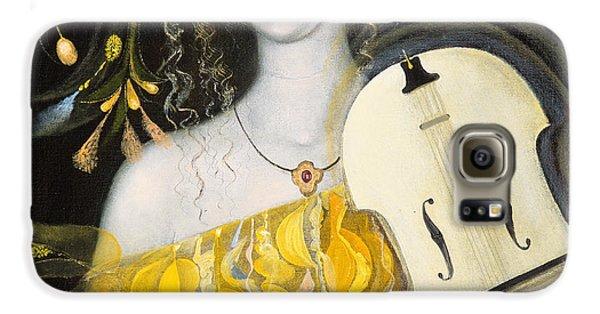 Violin Galaxy S6 Case - Leo by Annael Anelia Pavlova
