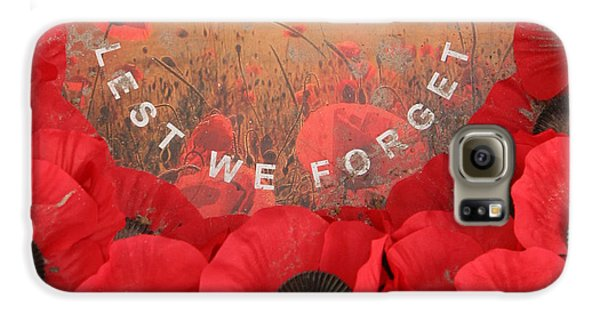 Galaxy S6 Case featuring the photograph Lest We Forget - 1914-1918 by Travel Pics
