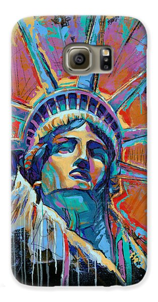 Liberty In Color Galaxy S6 Case by Damon Gray