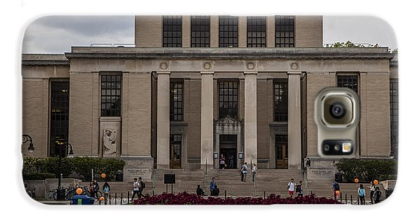 Library At Penn State University  Galaxy S6 Case by John McGraw