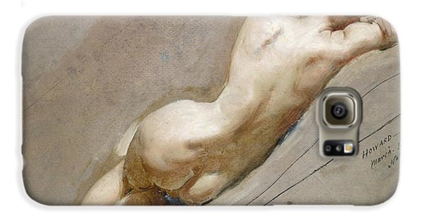 Nudes Galaxy S6 Case - Life Study Of The Female Figure by William Edward Frost