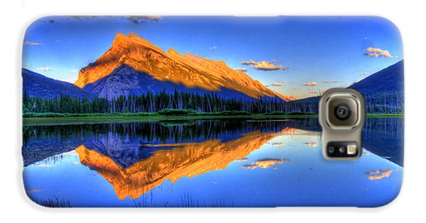 Mountain Galaxy S6 Case - Life's Reflections by Scott Mahon