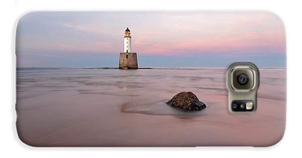 Lighthouse Sunset Rattray Head Galaxy S6 Case by Grant Glendinning