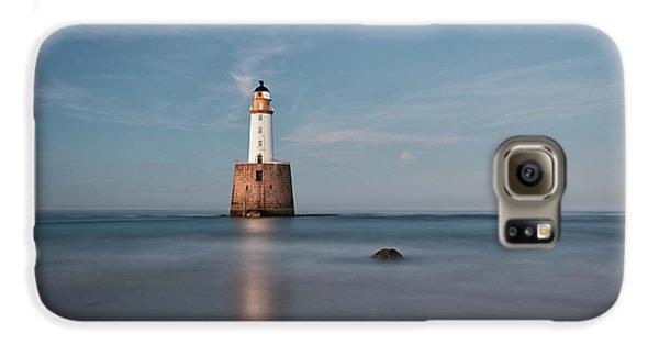 Lighthouse Twilight Galaxy S6 Case by Grant Glendinning