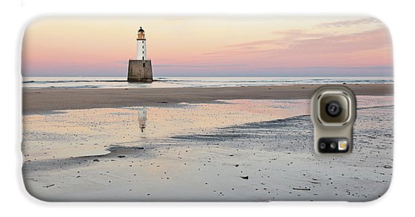 Lighthouse Sunset - Rattray Head Galaxy S6 Case by Grant Glendinning