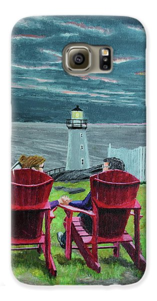 Lighthouse Lovers Galaxy S6 Case