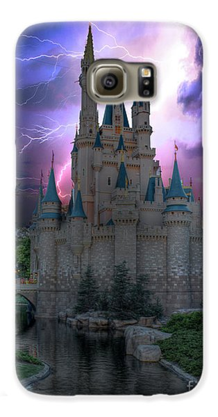 Lighting Over The Castle Galaxy S6 Case
