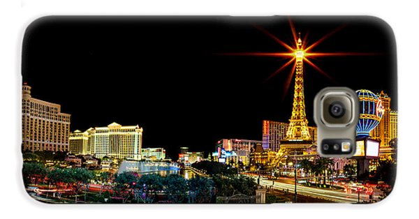 Lighting Up Vegas Galaxy S6 Case by Az Jackson