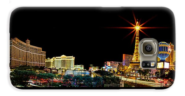 Lighting Up Vegas Galaxy S6 Case by Az Jackson