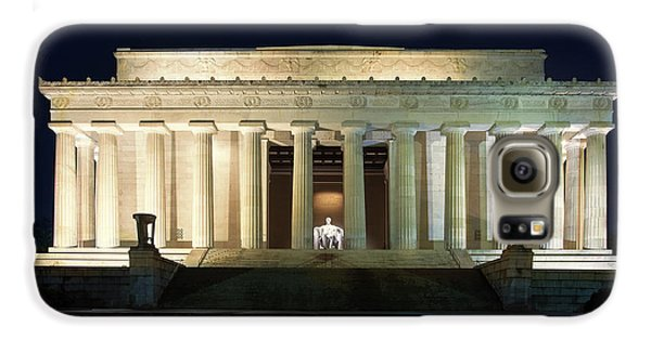 Lincoln Memorial At Twilight Galaxy S6 Case by Andrew Soundarajan