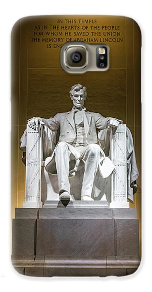 Lincoln Memorial Galaxy S6 Case - Lincoln Memorial by Larry Marshall