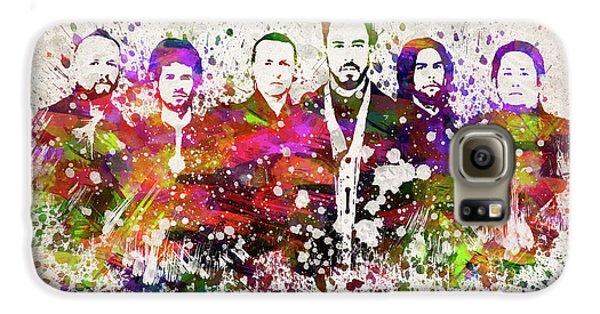 Linkin Park In Color Galaxy S6 Case