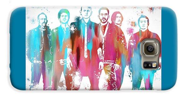 Linkin Park Watercolor Paint Splatter Galaxy S6 Case