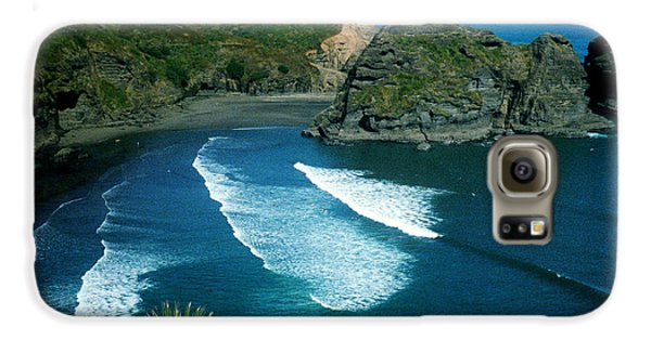 Lion Beach Piha New Zealand Galaxy S6 Case