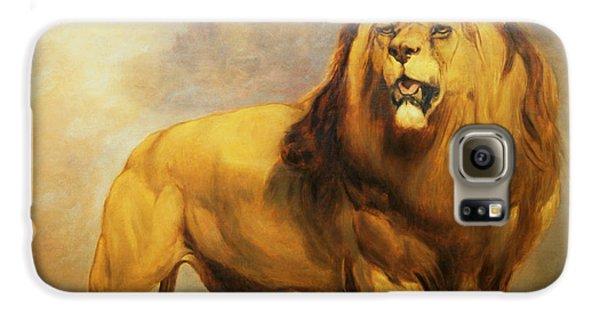 Lion  Galaxy S6 Case by William Huggins