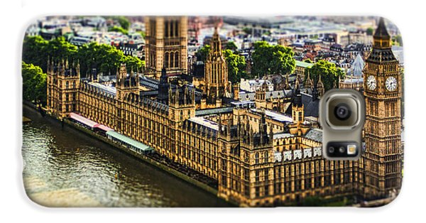 London Galaxy S6 Case - Little Ben by Andrew Paranavitana