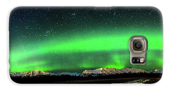 Little House Under The Aurora Galaxy S6 Case