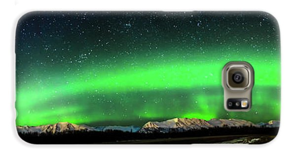 Little House Under The Aurora Galaxy S6 Case
