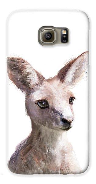 Animals Galaxy S6 Case - Little Kangaroo by Amy Hamilton