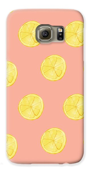 Little Lemons Galaxy S6 Case by Allyson Johnson