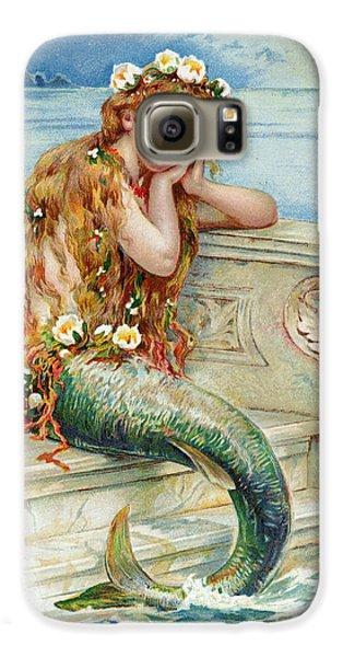 Little Mermaid Galaxy S6 Case