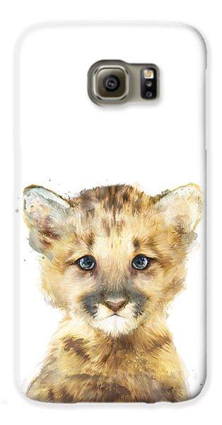 Mountain Galaxy S6 Case - Little Mountain Lion by Amy Hamilton