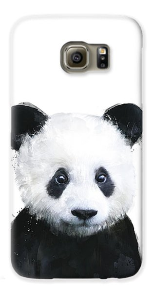 Little Panda Galaxy S6 Case by Amy Hamilton