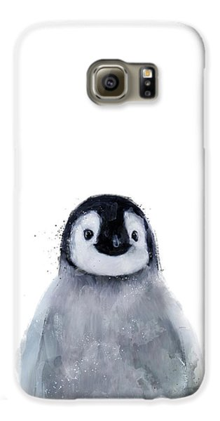 Penguin Galaxy S6 Case - Little Penguin by Amy Hamilton