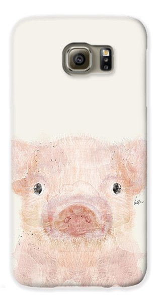 Little Pig Galaxy S6 Case by Bri B