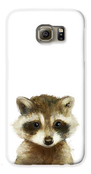 Wildlife Galaxy S6 Case - Little Raccoon by Amy Hamilton
