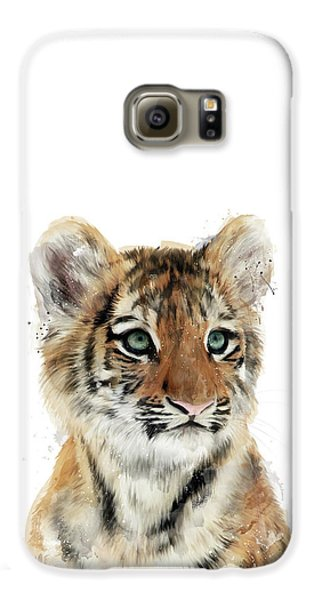 Tiger Galaxy S6 Case - Little Tiger by Amy Hamilton