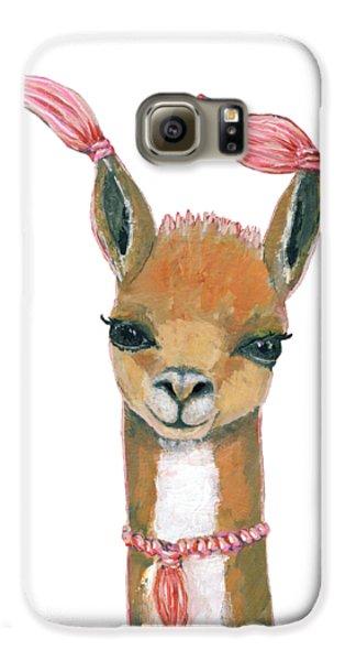 Llama Galaxy S6 Case - Llama by Blenda Studio