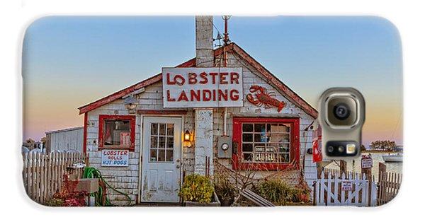 Lobster Landing Sunset Galaxy S6 Case by Edward Fielding