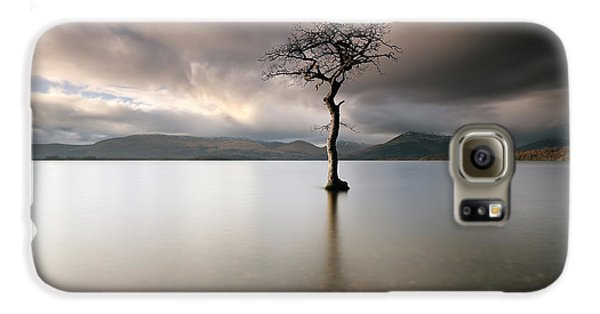 Loch Lomond Lone Tree Galaxy S6 Case