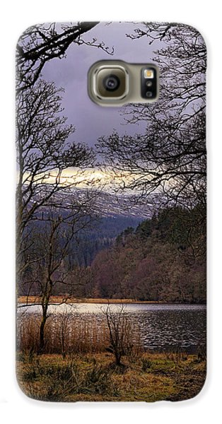 Galaxy S6 Case featuring the photograph Loch Venachar by Jeremy Lavender Photography
