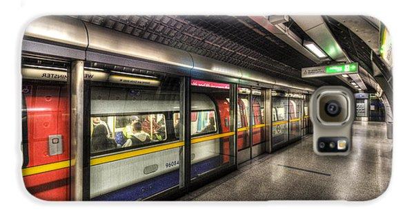 London Underground Galaxy S6 Case by David Pyatt