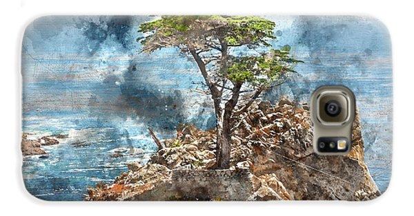 Lone Cypress In Monterey California Galaxy S6 Case