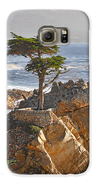 Landscape Galaxy S6 Case - Lone Cypress - The Icon Of Pebble Beach California by Christine Till
