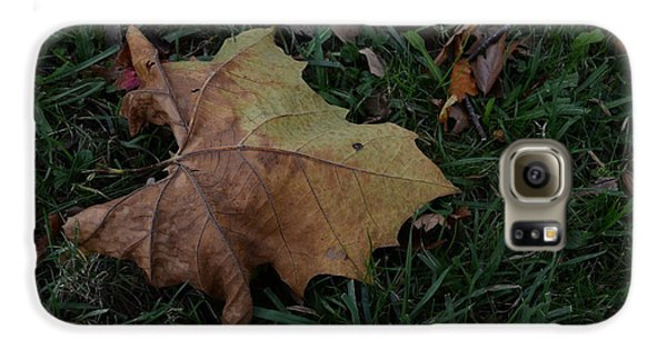 Lonely Leaf Galaxy S6 Case