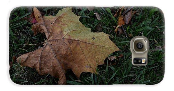 Lonely Leaf Galaxy S6 Case