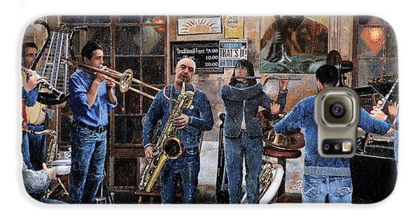 Trumpet Galaxy S6 Case - L'orchestra by Guido Borelli