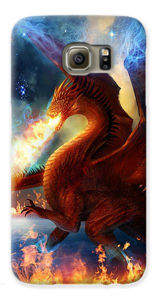 Lord Of The Celestial Dragons Galaxy S6 Case by Philip Straub