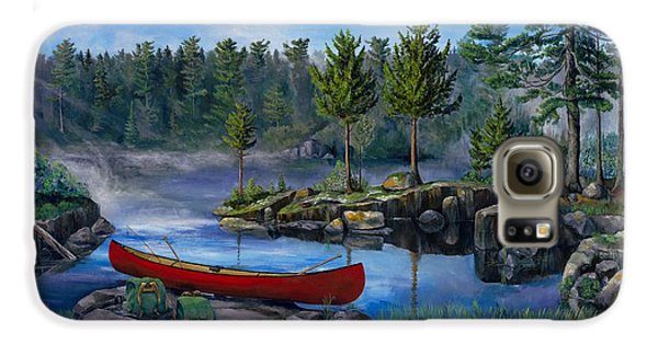 Lost In The Boundary Waters Galaxy S6 Case